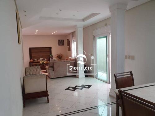Casa Com 3 Dormitórios À Venda, 320 M² Por R$ 1.170.000,00 - Vila Homero Thon - Santo André/sp - Ca1355