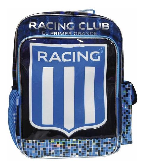 Racing Mochila 18 Pulgadas Grado Escolar Colegial * Oficial