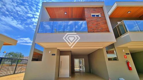 Imagem 1 de 18 de Sobrado 3 Suítes, 139 M² À Venda Na Graciosa - Condomínio Quintas Do Lago - 306