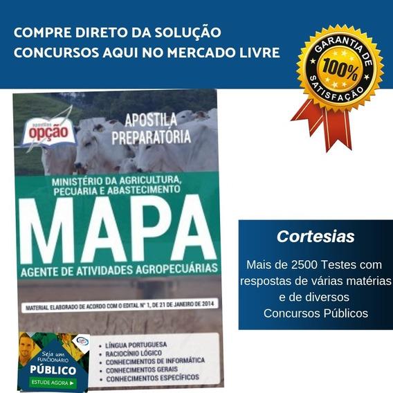 Apostila Concurso Mapa - Agente De Atividades Agropecuárias