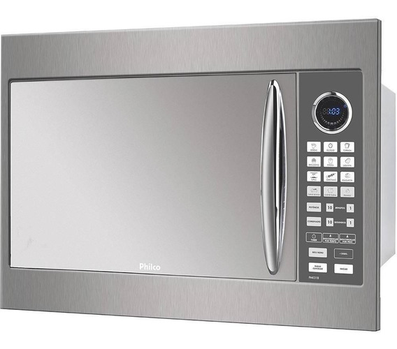 Microondas Philco PME31BM Prata 220V