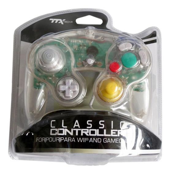 Controle Classic Para Gamecube E Nintendo Wii Ttx Ttxtech