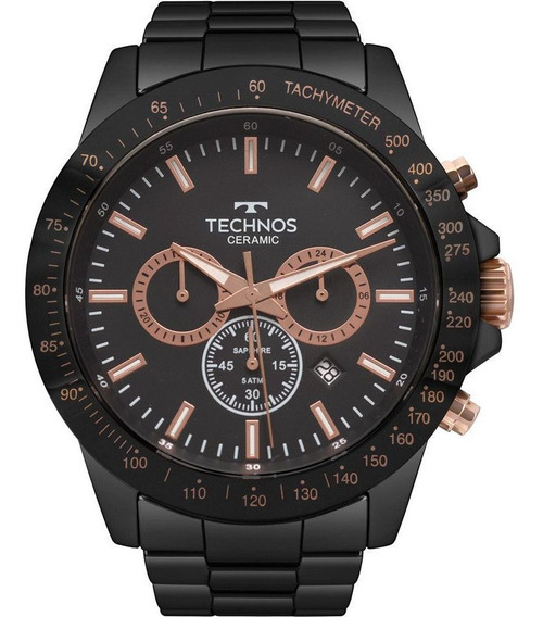 Relógio Masculino Technos Ceramic Js25bu/4p