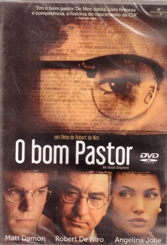O Bom Pastor - Com Angelina Jolie Robert De Niro Matt Damon   Mercado Livre