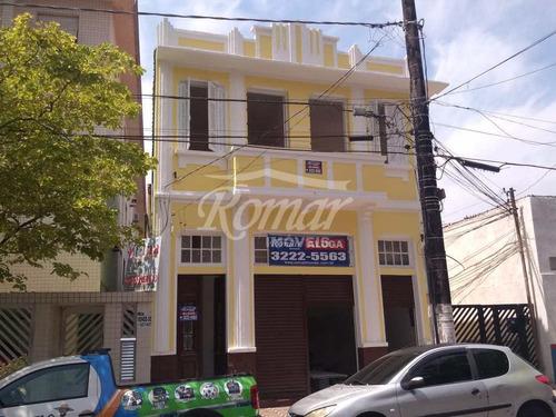 Imagem 1 de 13 de Loja Comercial Toda Reformada Na Ponta Da Praia - A1073