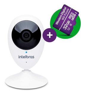Câmera Ip Segurança Monitoramento Ic3 Hd 720p Wifi C/ 32gb