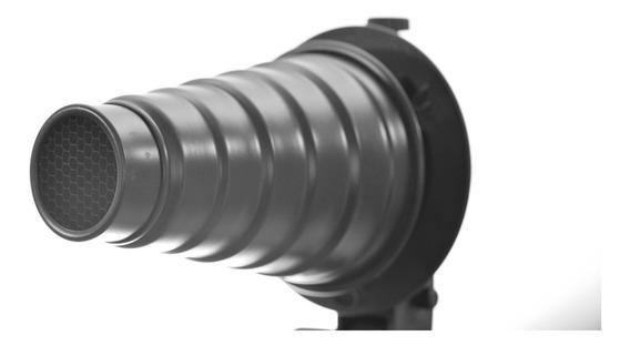 Snoot Cone Para Flash Greika F300, De300, Sk300, Sk400 Qs600