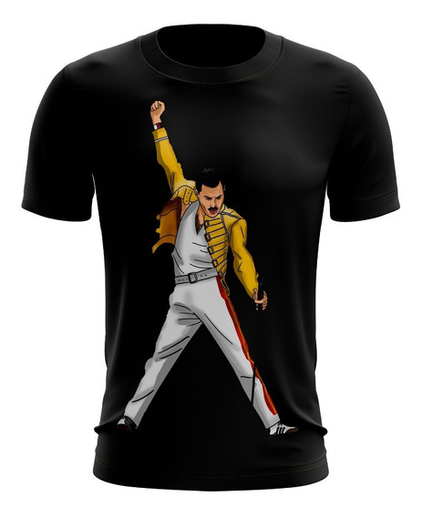 Playeras Sublimadas Freddie Mercury Queen Varios Modelos