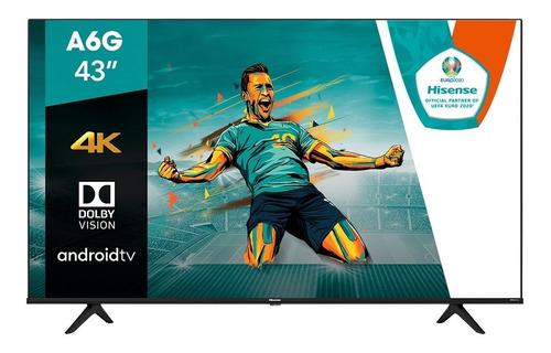 Pantalla Hisense De 43  4k Android Tv