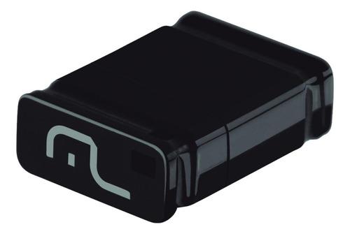 Pendrive Multilaser Nano PD054 16GB 2.0 preto