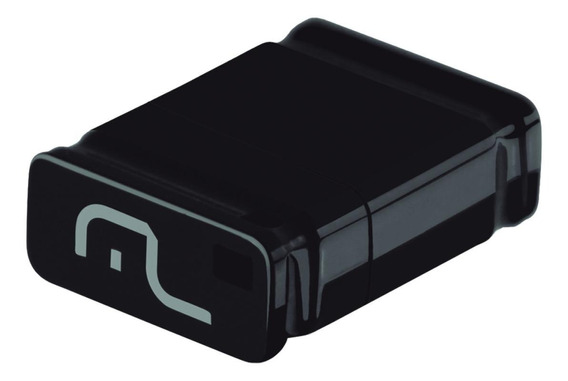 Pendrive Multilaser Nano PD054 16GB preto