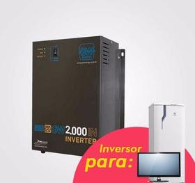 Inversor / Conversor 2000w  P/ Geladeira Frete Grátis