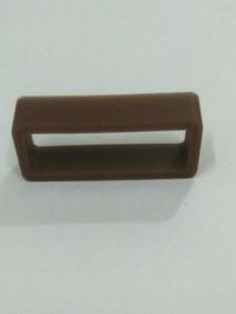 Presilha Ou Passante Da Pulseira Do Relógio Cor Chocolate