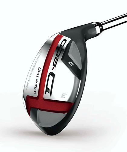 Palos De Golf Hibrido #3 #4 Wilson Staff D200 Stiff