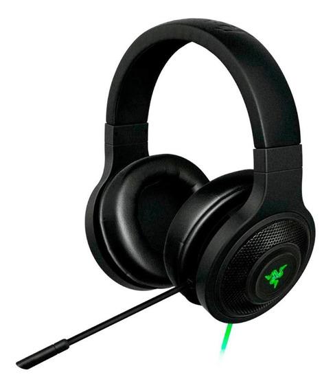 Headset Kraken Essential Razer Com Microfone Preto