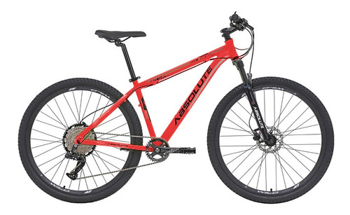Imagem 1 de 2 de Bicicleta 12v Absolute Nero 29 Vermelha Trava No Guidão