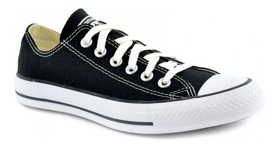 Zapatillas Converse Chuck Taylor All Star Negras 18 Cuotas