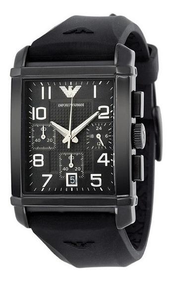 Reloj Armani Hombre Caucho Crono Tienda Oficial Ar0335