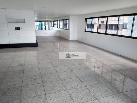 Apartamento À Venda - Na Jatiúca - Beira Mar - 310 M² - 4 Quartos / 4 Suítes - 4 Vagas - Por R$ 2.900.000,00 - Ap0016