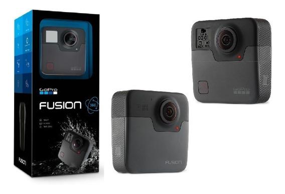 Gopro Fusion 360 5.2k Com 18 Mp + 2 Sandisk 32gb + 2 Bateria