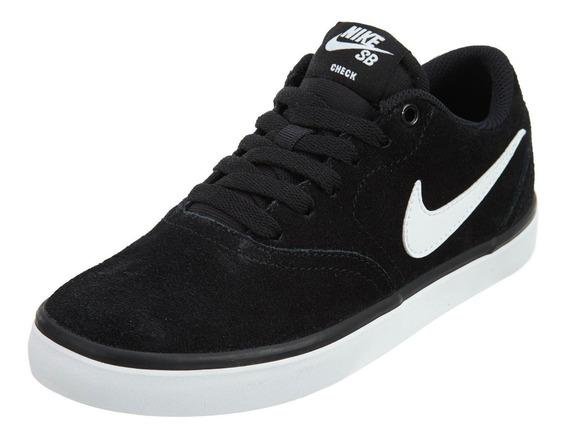 Tenis Nike Sb Check Solar Negro 843895-001 Look Trendy