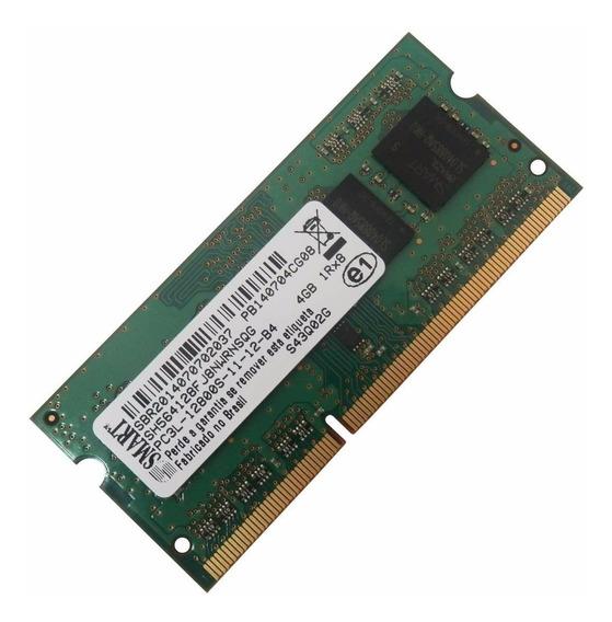 Memoria Notebook 4gb Ddr3 Pc3l 1600 Smart 12800 Low Voltage