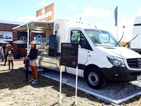 Mercedes Food Truck Monterrey Habilitable