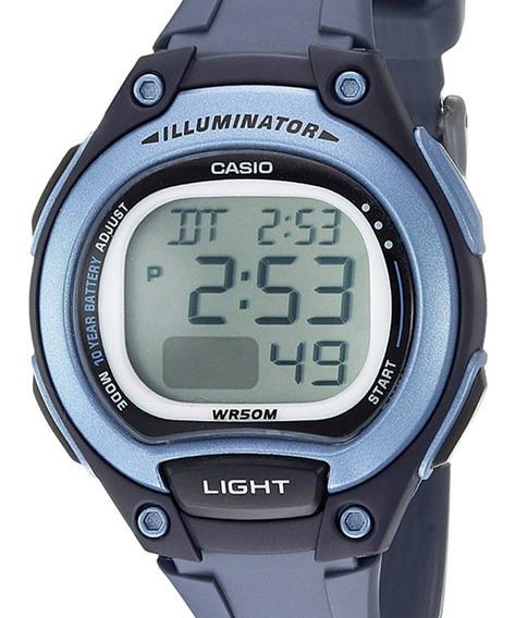Relógio Casio Feminino Digital Standard Azul Original Barato