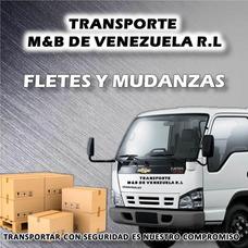 Transporte M&b De Vzla Fletes Y Mudanzas.