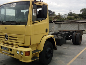 Mb 1215 C - 4x2 - Ano/mod 1999/99 - Amarelo - Chassis