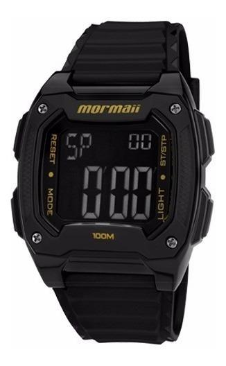 Relógio Mormaii Masculino Digital Mo11516b/8y Negativo Preto