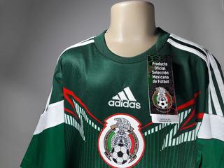 Camisa adidas Home México Infantil Copa 2014 Nova Oficial