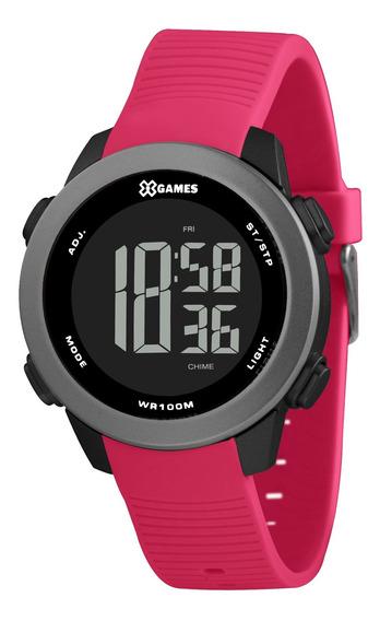 Relógio X Games Feminino Xfppd080 Pxrx Rosa - Refinado