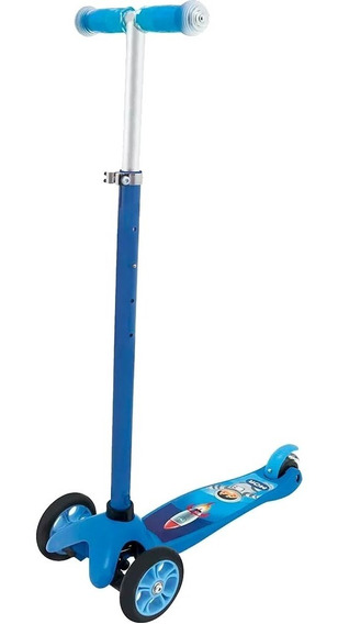 Patinete 3 Rodas Infanto Juvenil Menino Azul 40600312 Mor