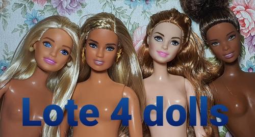 Lote De Barbie Original Usadas