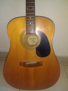 Guitarra Acústica Samick (para Reparar)