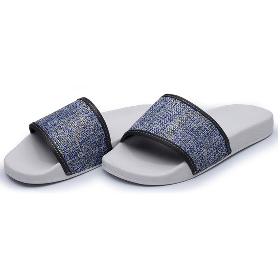 Chinelo Sid Tecido Jeans Avalon Promoção