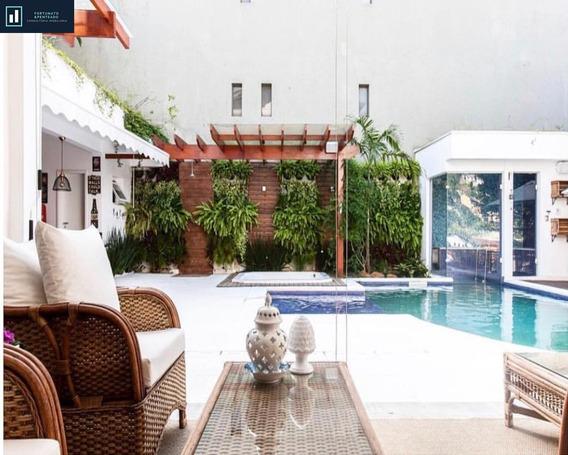 Casa De Alto Padrão E De Extremo Bom Gosto, Projetada Por Arquiteta Conceituada! - Ca00049 - 34597603