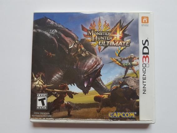 Capa Monster Hunter Ultimate 4 Original Para Nintendo 3ds
