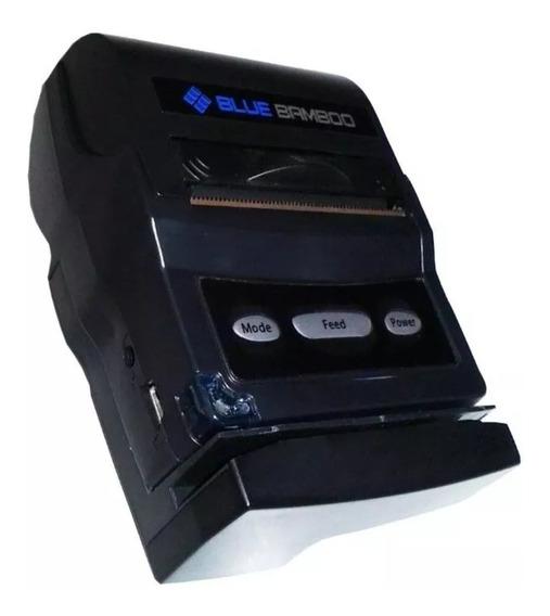 Impressora Termica Portatil Bluetooth Blue Bamboo P25-m