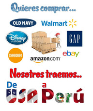 Compras En Usa Para Perú - Envios Seguros Y Confiables