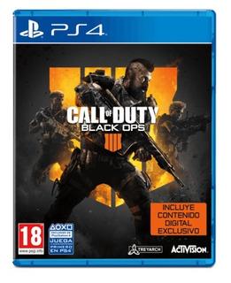 Call Of Duty Black Ops 4 Ps4 1ria Estreno Preventa Ya