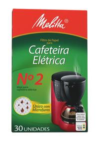 Filtro De Papel N2 Melitta - Cor Branco