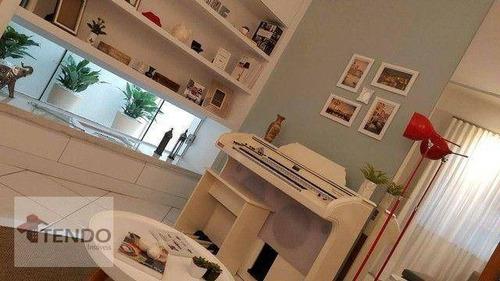 Imagem 1 de 20 de Casa Com 3 Dormitórios À Venda, 107 M² Por R$ 495.000,00 - Parque Das Nações - Indaiatuba/sp - Ca0821