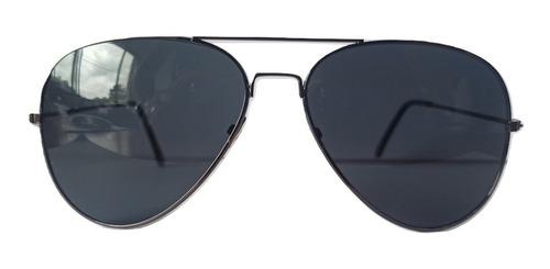 Imagem 1 de 5 de Óculos De Sol Aviador Masculino Feminino Com Uv400 Original