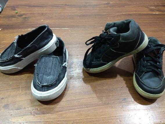 Zapatillas Y Panchas Niño (precio Por Las 2)