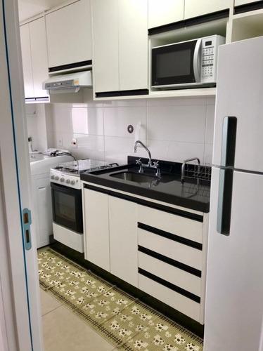 Imagem 1 de 6 de Apartamento Com 1 Dormitório Para Alugar, 52 M² Por R$ 3.500/mês - Alphaville Industrial - Barueri/sp - Ap4740