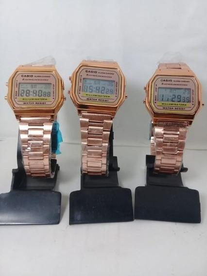 Kit Relógio Para Revenda Com 5 Relógios + Caixinha De Brinde