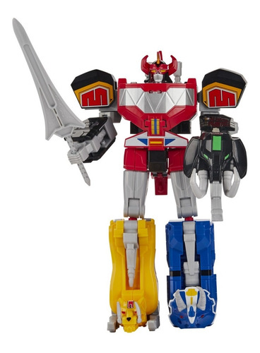Power Rangers Boneco Megazord Clássico Mighty Morphin Hasbro