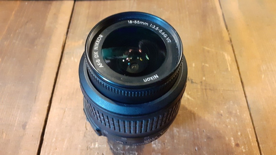 Lente Kit De Nikon 18-55